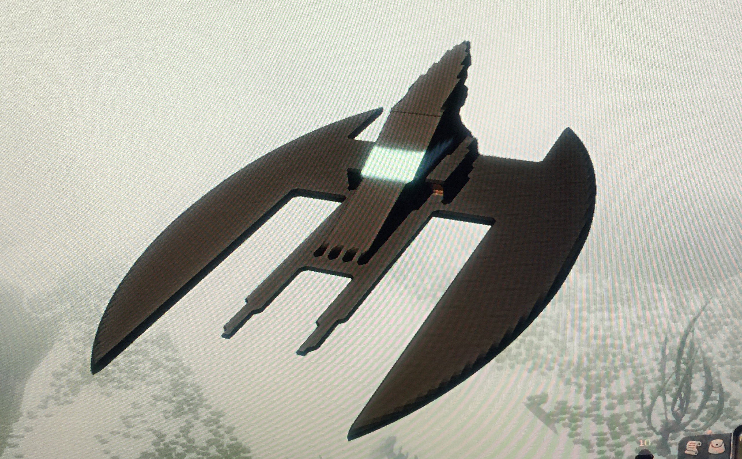 batwing, animated series, planet explorers, 3d